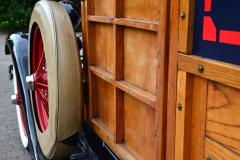 Ford Model A: Seitenansicht