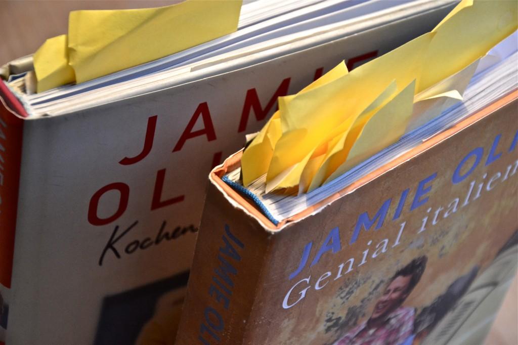 Ueber Kochbücher und Jamie Oliver