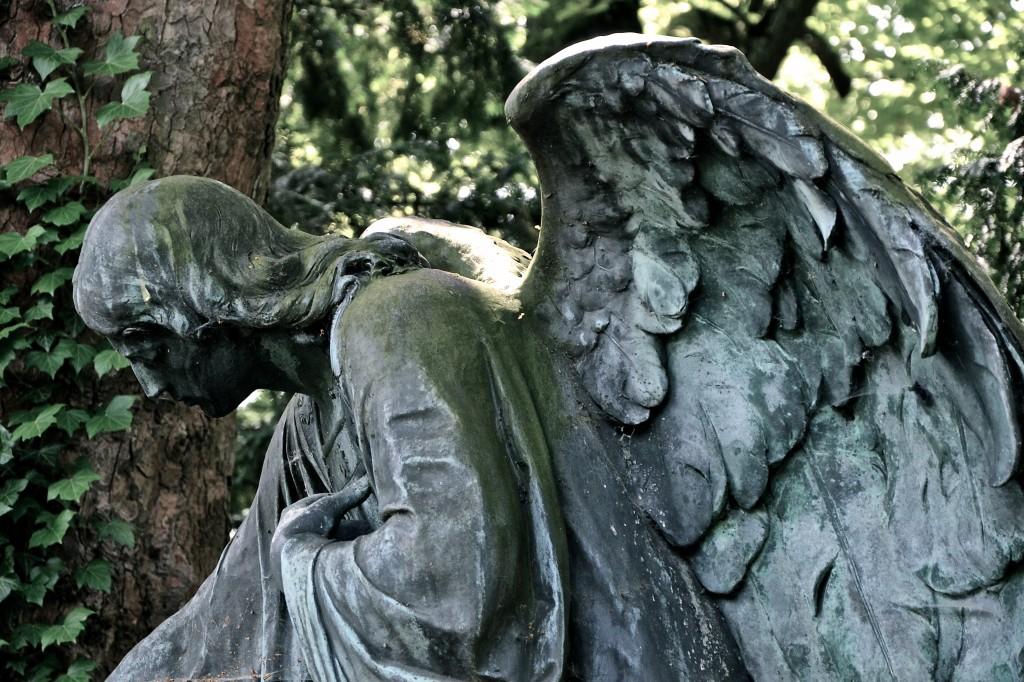 Engel auf Melkten