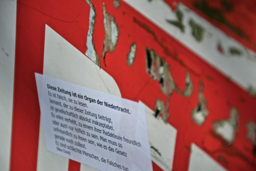 """Ein Organ der Niedertracht - Max Goldt über die Bild-""""Zeitung"""""""