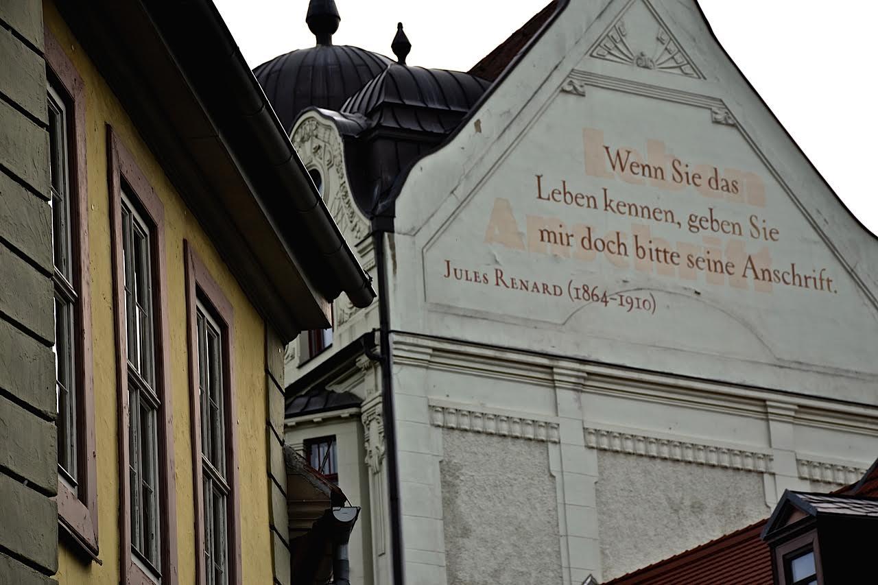 Weimar: Fassadenmalerei