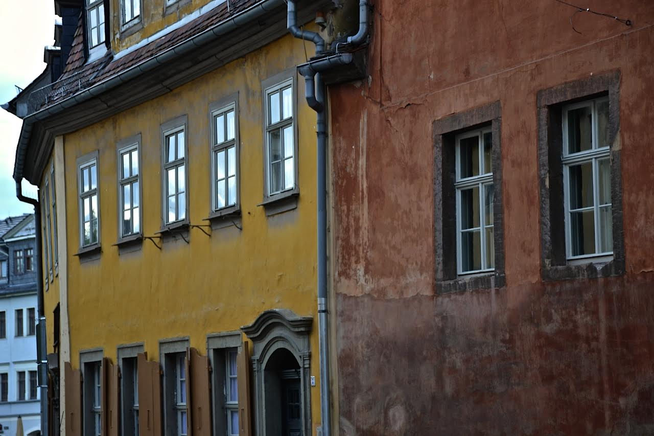 Weimar: Goethehausfassade