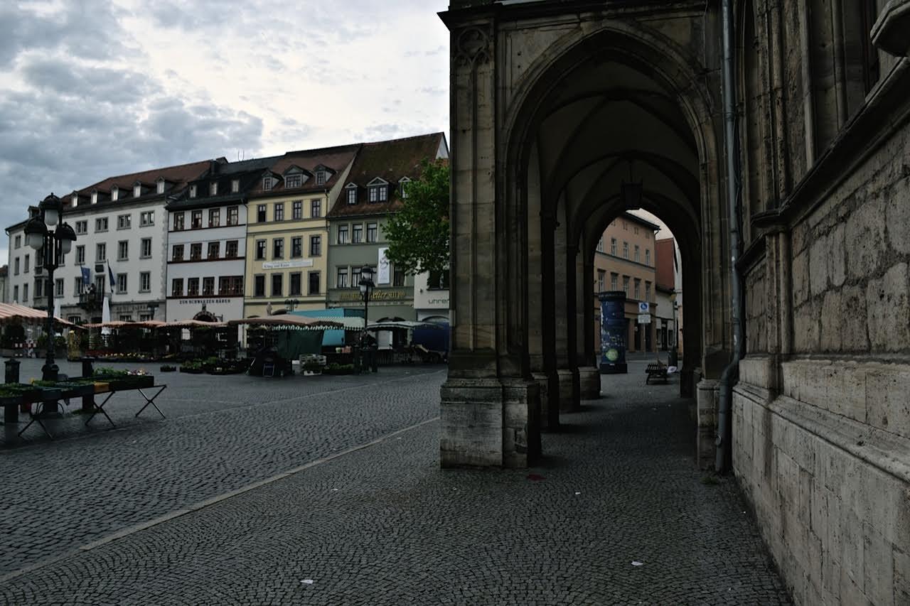 Weimar: Marktplatz