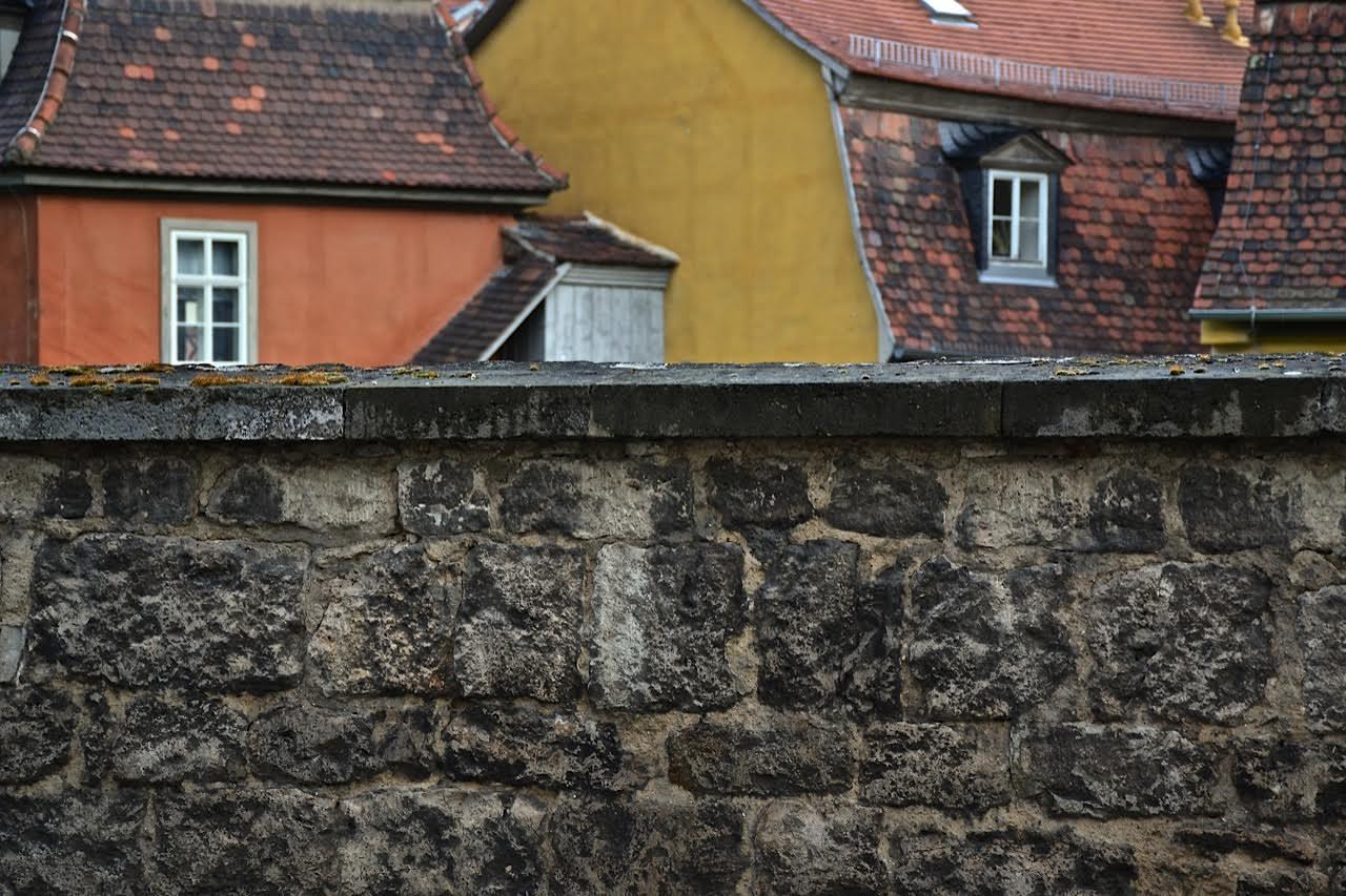 Weimar: Goethes Gartenmauer