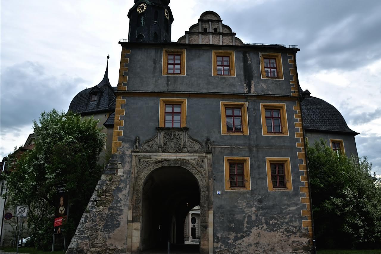Weimar: Eingang zum Schloss