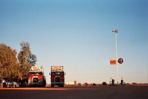 Australien: Rote Erde im Morgenlicht