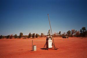 Australien : Tankstelle im Outback