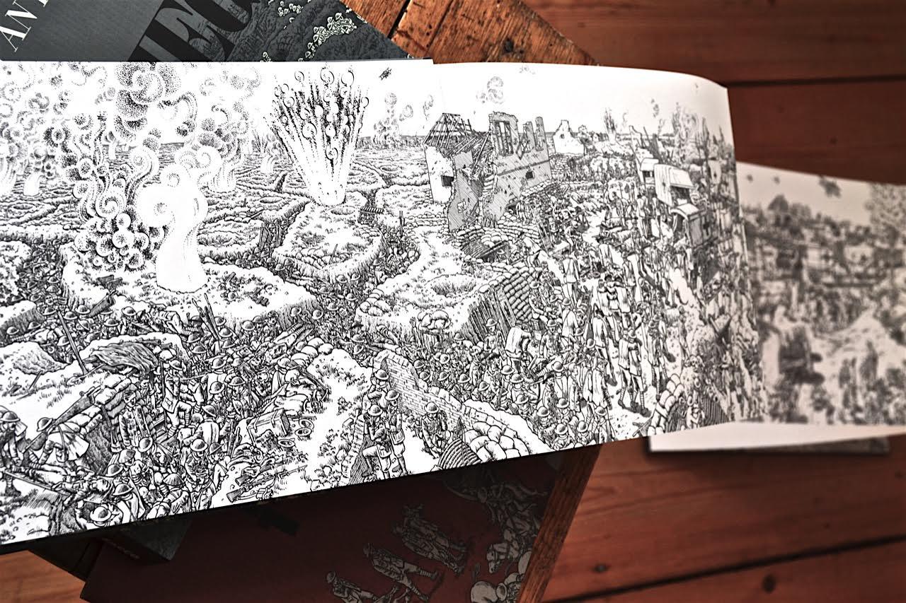 Joe Sacco: Die Schlacht an der Somme