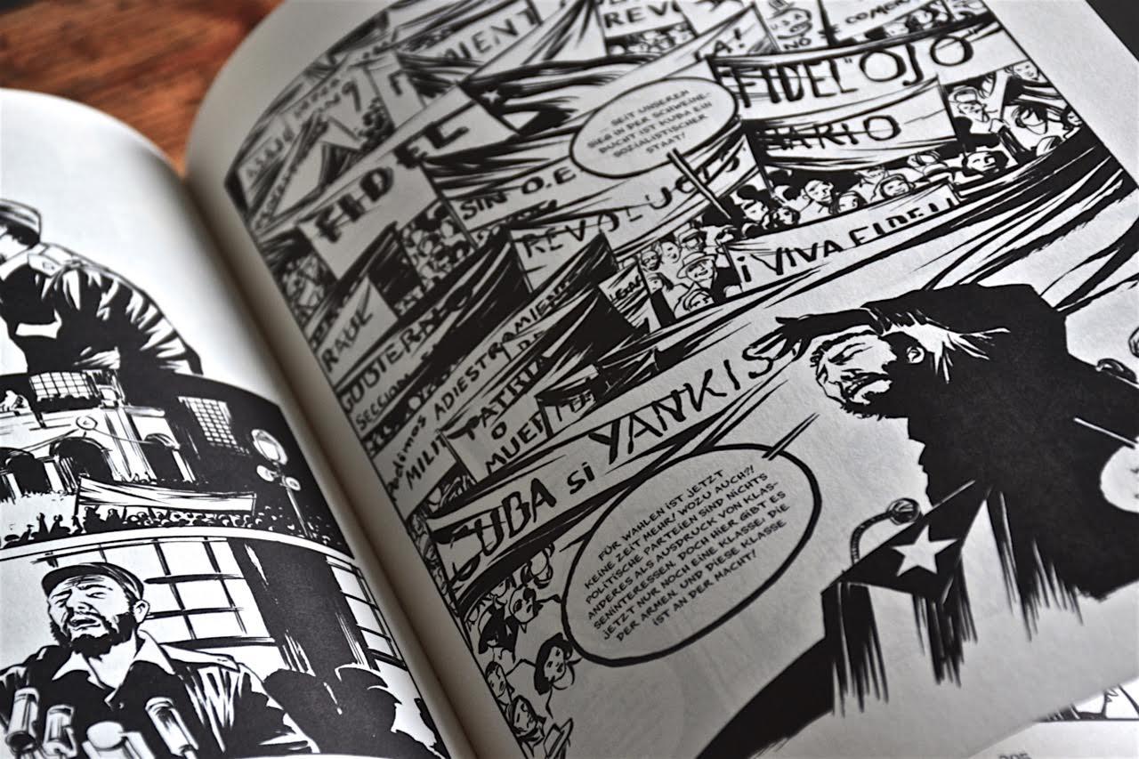Reinhard Kleist: Castro - Eine Graphic Novel