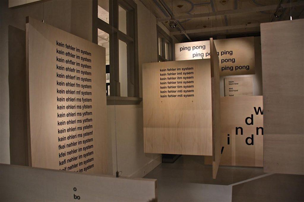 Zürich liest 2016: Ausstellung Gomringer und Gomringer