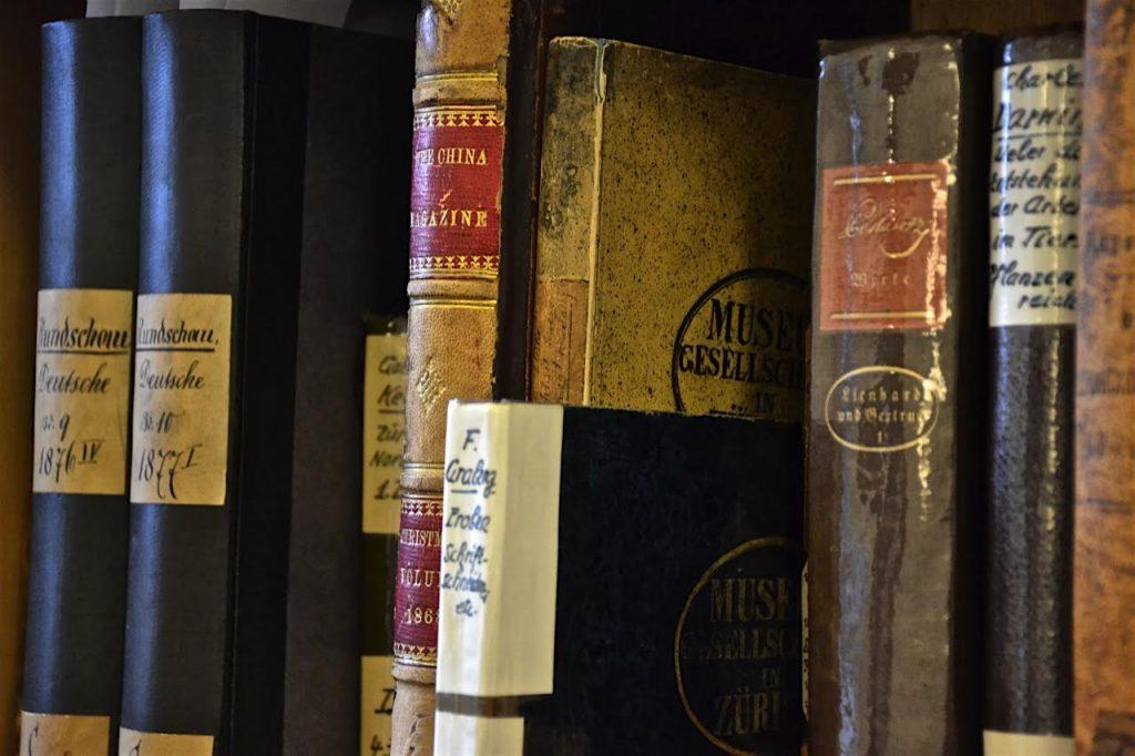 Zürich liest 2016: Führung durch die Bibliothek der Museumsgesellschaft