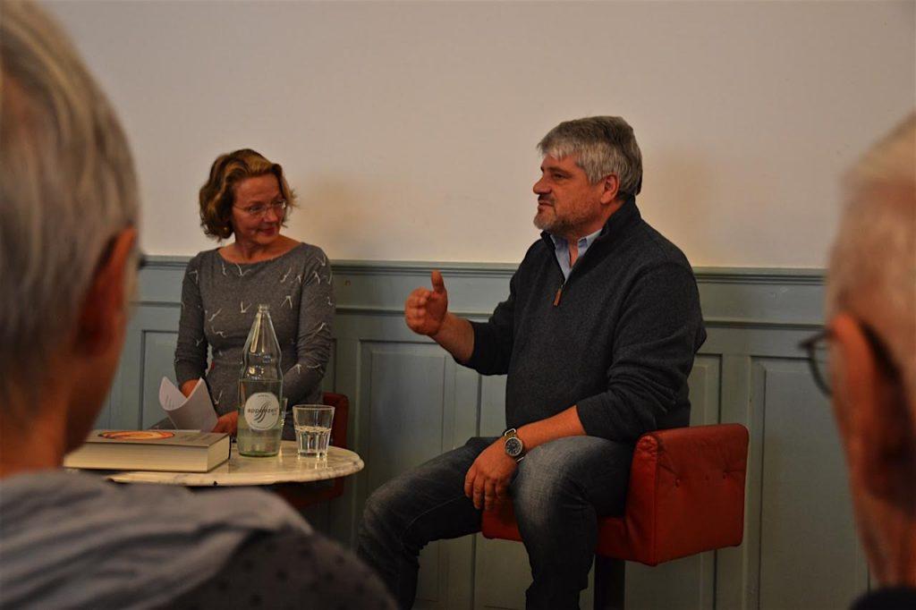 Zürich liest 2016: Raoul Schrott im Gespräch mit Hildegard Elisabeth Keller