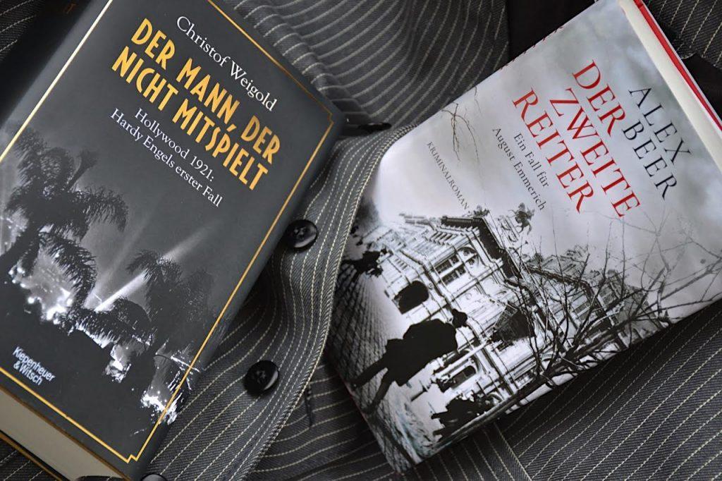 Alex Beer und Christof Weigold mit Auftaktbaenden neuer Krimireihen