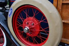 Ford Model A: Ersatzrad
