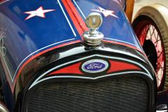 Ford Model A: Kuehlerhaube