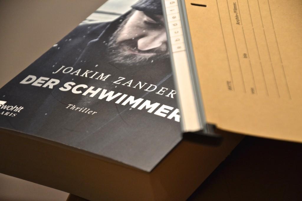 Joakim Zander: Der Schwimmer