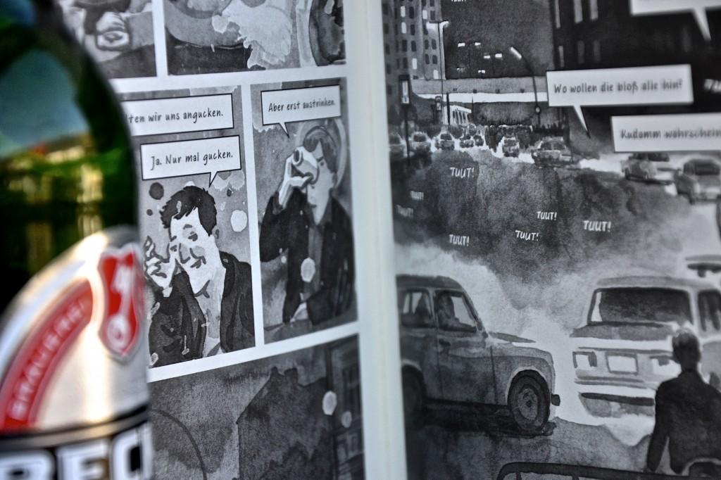 Sven Regener und Tim Dinger: Herr Lehmann als Graphic Novel