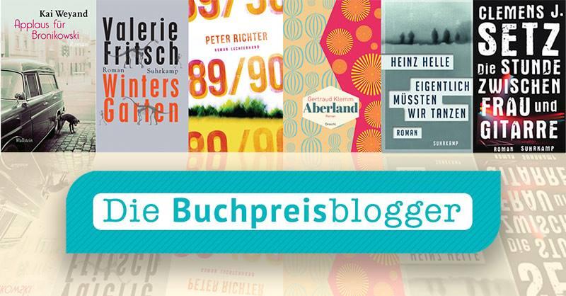 Deuscher Buchpreis 2015: Shortlist-Favoriten der Buchpreisblogger