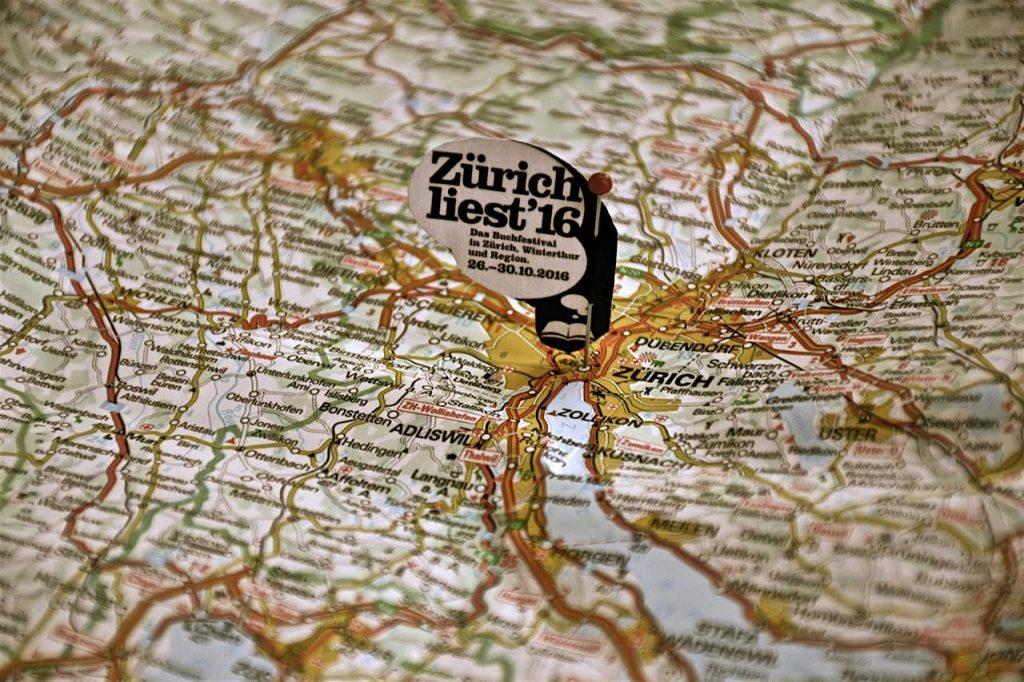 Zürich liest 2016: Der Kaffeehaussitzer auf Bloggerreise