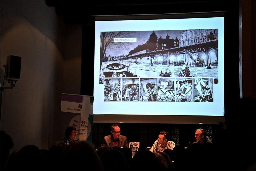 Arne Jysch und Volker Kutscher: Der nasse Fisch - Graphic Novel. Ein Gespräch im Kölner Literaturhaus.