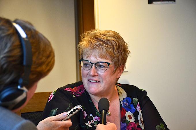 Die norwegische Kulturministerin Trine Skei Grande
