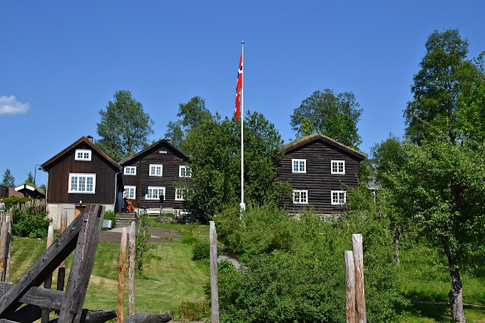 Sigrid Undsets Haus in Lillehammer