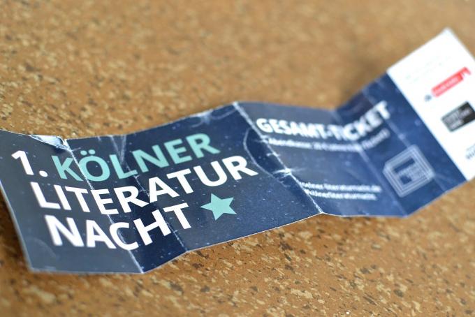 Koelner Literaturnacht 2019