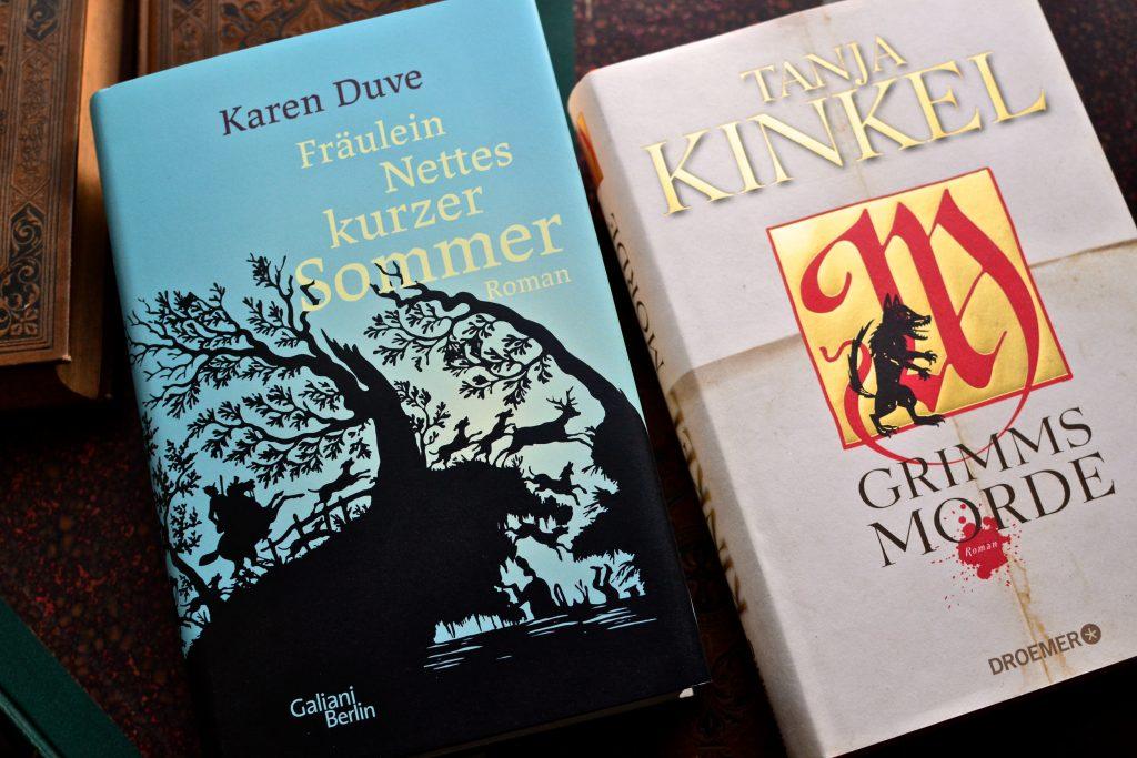 Karen Duves und Tanja Kinkels Buecher ueber Annette von Droste-Huelshoff