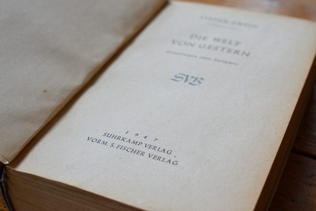 Papiergewordene Geschichte