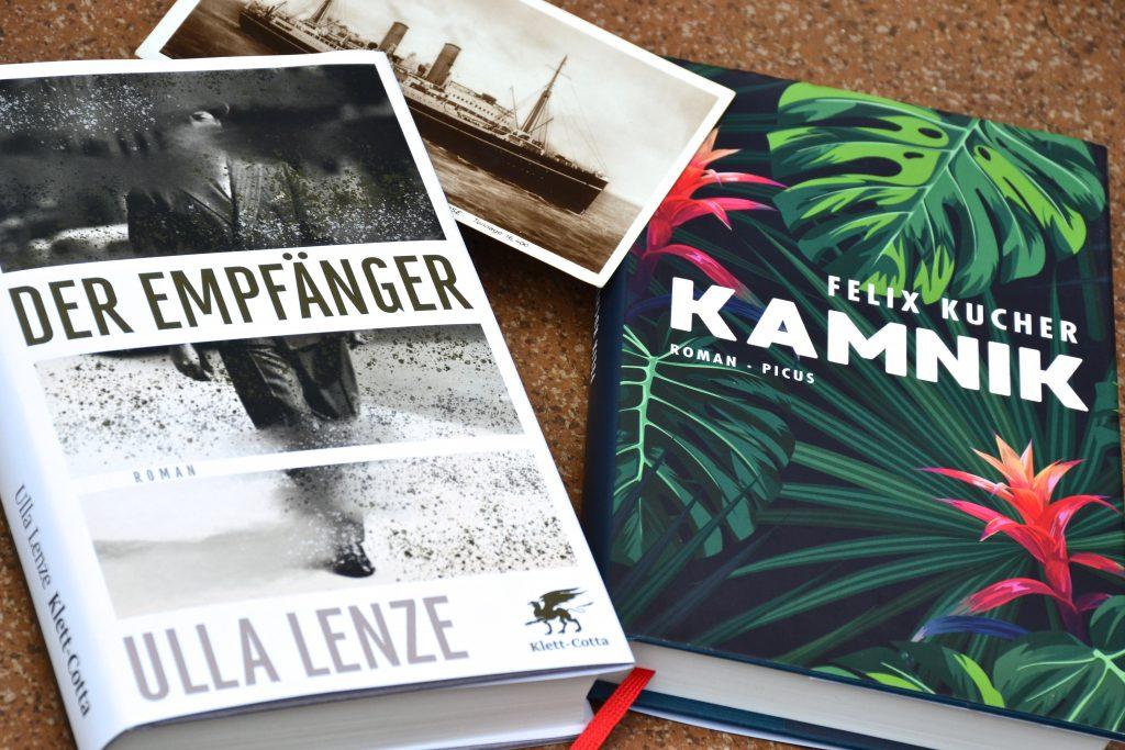 Ulla Lenze: Der Empfaenger und Felix Kucher: Kamnick | Migrantenschicksale