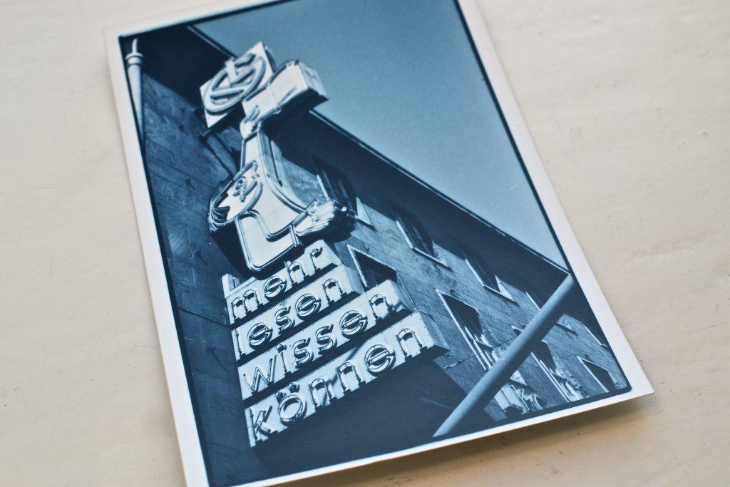 Mehr lesen, wissen, können: Das Leipziger Buchmaennchen