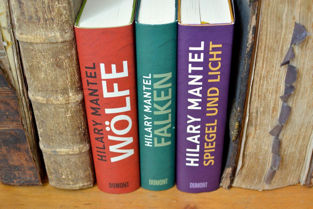 Hilary Mantel: Woelfe | Falken | Spiegel und Licht